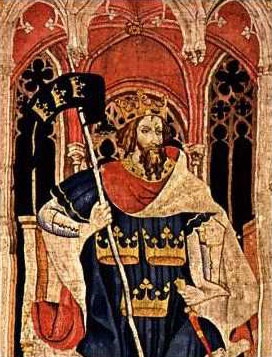 Артур король бриттов полу спящую