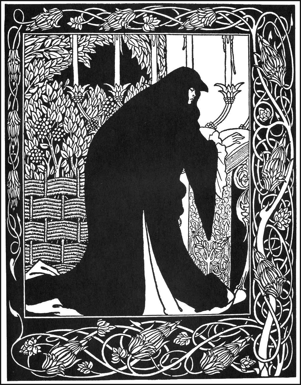 Смерти артура, иллюстрации обри бердслея