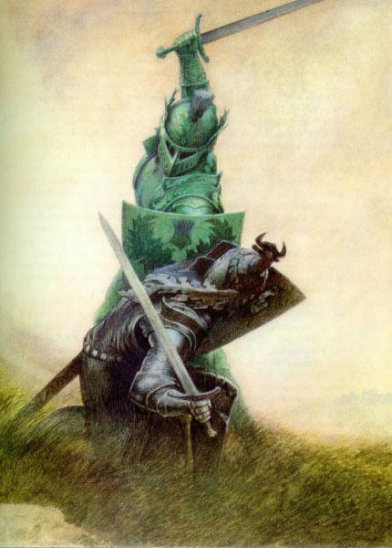 Сэр Гавейн и зеленый рыцарь