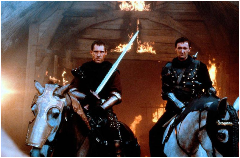 a review of the love and adventure movie first knight