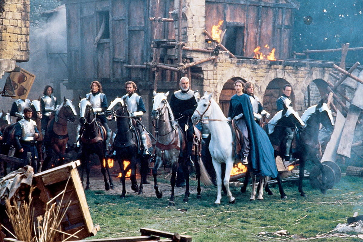 a review of the 1995 film first knight Film film home film news film on tv film on demand radio first knight jerry zucker (1995) 128min pg certificate.