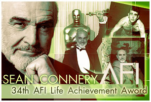 Sean Connery. 34th AFI Life Achievement Aword
