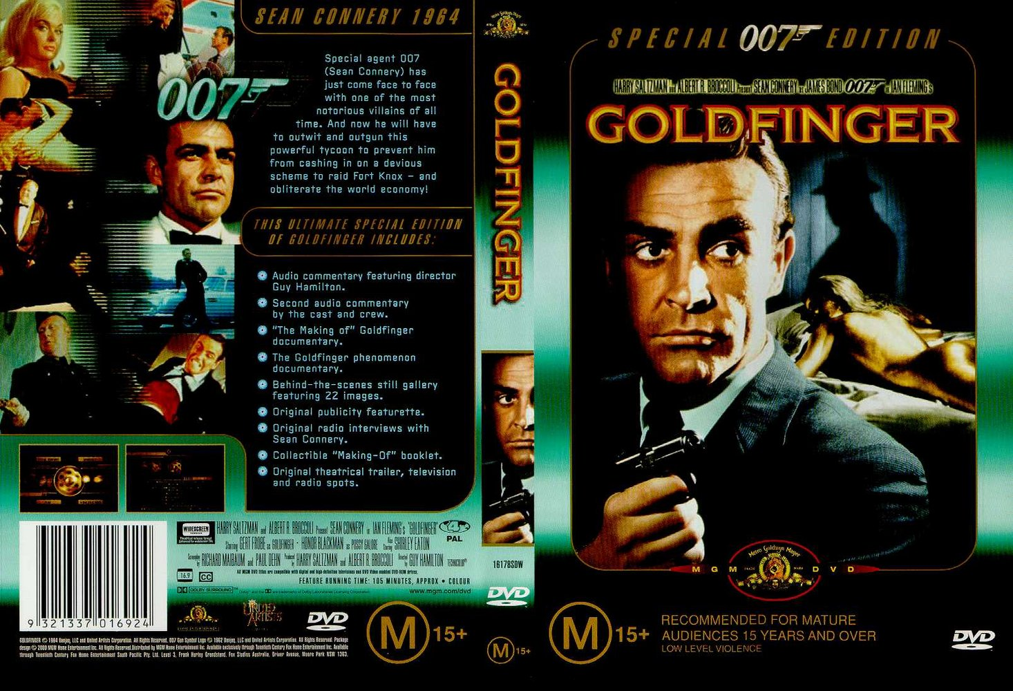 Goldfinger cast