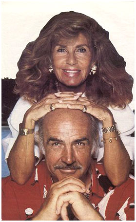 фото шон коннери с женой